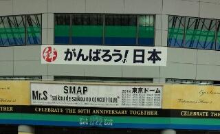 "Mr.S""saikou de saikou no コンサートツアー""2014/9/4東京ドーム初日レポ"