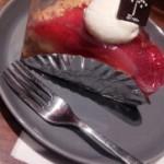 東京スカイツリーのカフェのケーキ