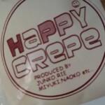Happy Crepeでちょびっとだけハッピー気分