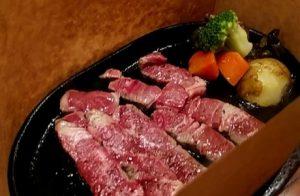 いしがまやのステーキ